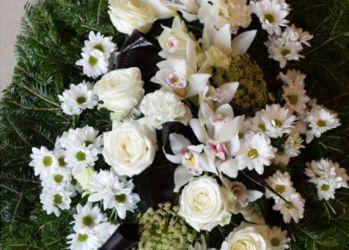 coroana funerara floarea ta